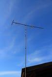 TV (television) antenna communication industry. TV antenna communication industry Stock Photography