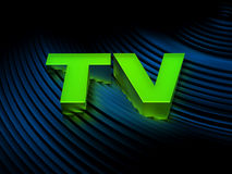 TV (Television) Royalty Free Stock Photo