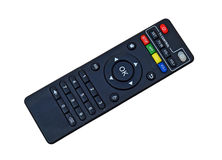 TV Television Remote control Isolated With PNG File Royalty Free Stock Images