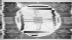 TV Test Pattern loop stock video