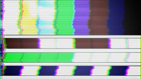 TV Test Pattern loop stock footage