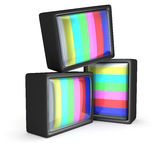 TV test pattern Royalty Free Stock Photography