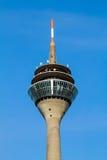 TV-toren in Dusseldorf, Duitsland stock afbeelding