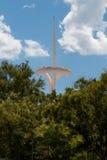 TV-Toren Montjuic Barcelona Stock Afbeeldingen