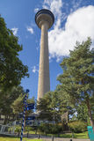 TV-toren in Tampere stock foto