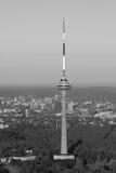 TV-toren in Vilnius, Litouwen Royalty-vrije Stock Foto's