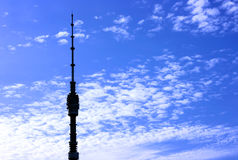 Tv tower Royalty Free Stock Photos