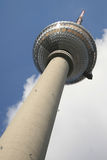 Tv tower. In Alexander Platz, Berlin Royalty Free Stock Images