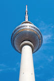 Tv tower in Alexanderplatz, Berlin Stock Image