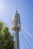 TV tower Barcelona, Spain Royalty Free Stock Photos