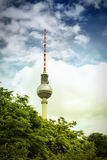 TV tower in Berlin. Germany Royalty Free Stock Image