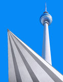 Tv tower berlin Stock Image