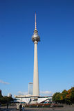 TV Tower Berlin at Alexander Place.  Royalty Free Stock Photo