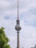 TV Tower Berlin Stock Photo