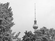 TV Tower Berlin Stock Photo