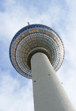 TV Tower in Berlin - Germany Stock Photo