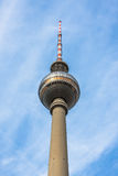 TV Tower in Berlin Stock Photography