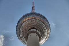 TV Tower of Berlin Royalty Free Stock Images