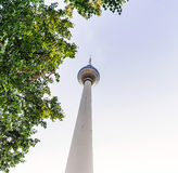 TV Tower in Berlin Royalty Free Stock Image