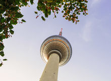 TV Tower in Berlin Stock Photos