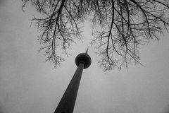 TV Tower Berlin Germany Stock Photo