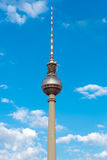 The TV Tower in Berlin, Germany Royalty Free Stock Image