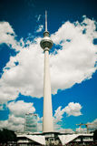TV Tower in Berlin, Germany Royalty Free Stock Images
