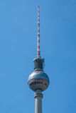 Tv Tower in Berlin - Television tower / Fernsehturm, Berlin Royalty Free Stock Photos