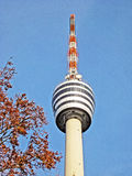 TV Tower Building Stuttgart Royalty Free Stock Photography