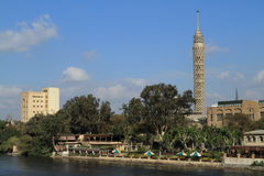 The TV tower of Cairo Stock Photography