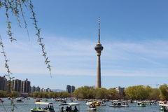 TV tower of CCTV Royalty Free Stock Images