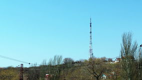 TV tower stock video