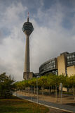 TV tower of Dusseldorf, Germany Stock Images