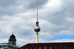 TV Tower. Fersehturm in Berlin Royalty Free Stock Photo