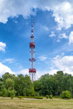 TV tower in the green park Royalty Free Stock Images