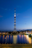 The TV Tower of the Leningrad Radiotelevision transmission Cente Stock Images