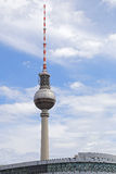 The TV Tower located on the Alexanderplatz in Berlin, Germany Stock Photography