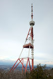 TV tower on the mount Mtatsminda Royalty Free Stock Photography