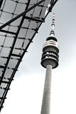 TV tower in Munich (Olympic Park) Stock Photos