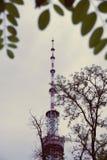 TV tower near the metro station Dorogozhychi, Kiev, Kyiv, Ukraine Stock Photography