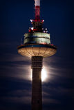 TV Tower At Night Royalty Free Stock Photo