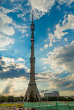 TV Tower Ostankino Stock Images