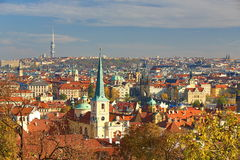 TV Tower, Panorama, Prague Castle, Prague, Czech Republic Royalty Free Stock Image