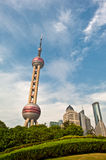 TV Tower in a park, Shanghai Royalty Free Stock Images