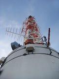 TV tower Stuttgart, antenna Royalty Free Stock Image
