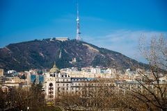 TV tower in Tbilisi Stock Image