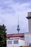 The TV Tower or the Toothpick in the city of Berlin Germany. Royalty Free Stock Images