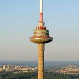 TV tower in Vilnius, Lithuania Stock Image