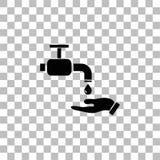 Tv?tta din obligatoriska symbolsl?genhet f?r h?nder royaltyfri illustrationer