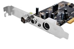 TV tuner card Stock Images